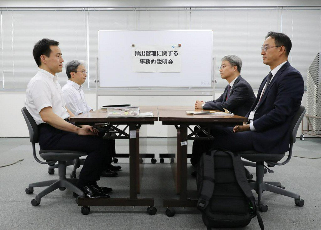 South Korea demands proof from Japan for accusation of export violations https://reut.rs/2JxlEby
