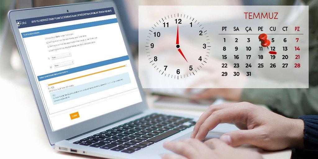 ‼LGS tercihleri için son gün 💻  🗓 12 Temmuz / Bugün  ⏰ 17.00  Tercih ekranına ulaşmak için tıklayınız👇🏻  http://bit.ly/2B7MTZs