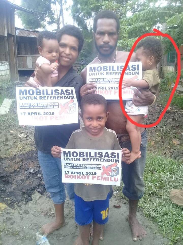 Indonesian Police torture to death baby Namu Balingga Senatini West Papua  by refusing breast milk for 27 hours. These war crimes are covered up by Australia under National security illegal under IHL laws