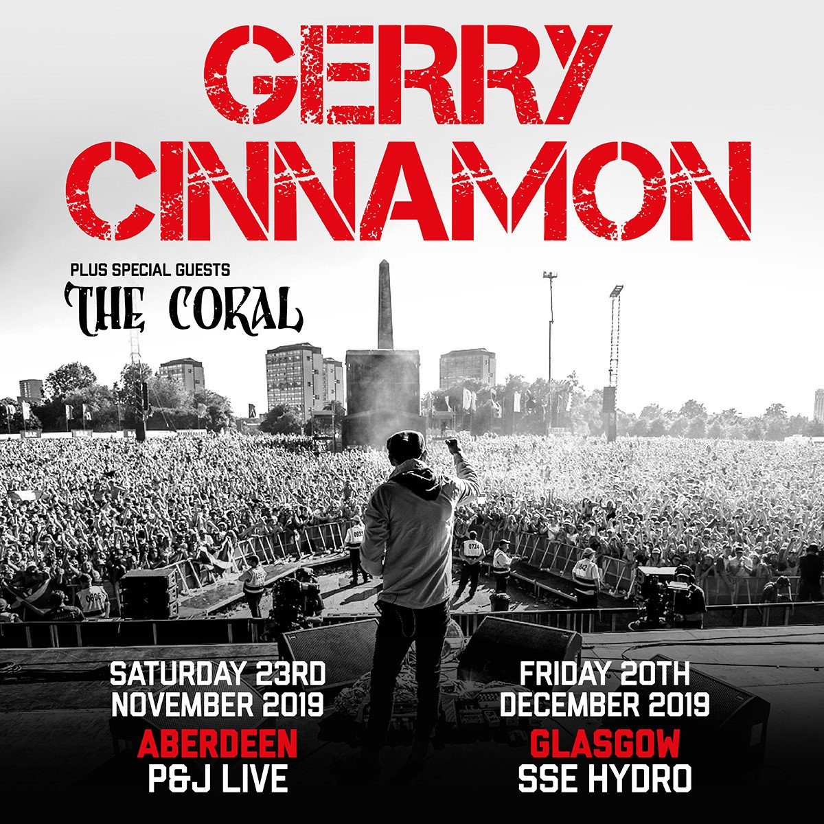 Happening Scotland 🙋♂️ New tour dates announced - Also wee gig on the green tonight - 7.30pm Cheers x ____________________ Pre-sale Wed 9am  General sale Friday 9am Names on ticks. 4 pp. Read T&Cs. Sign up for pre-sale access now - http://www.gerrycinnamonmusic.com
