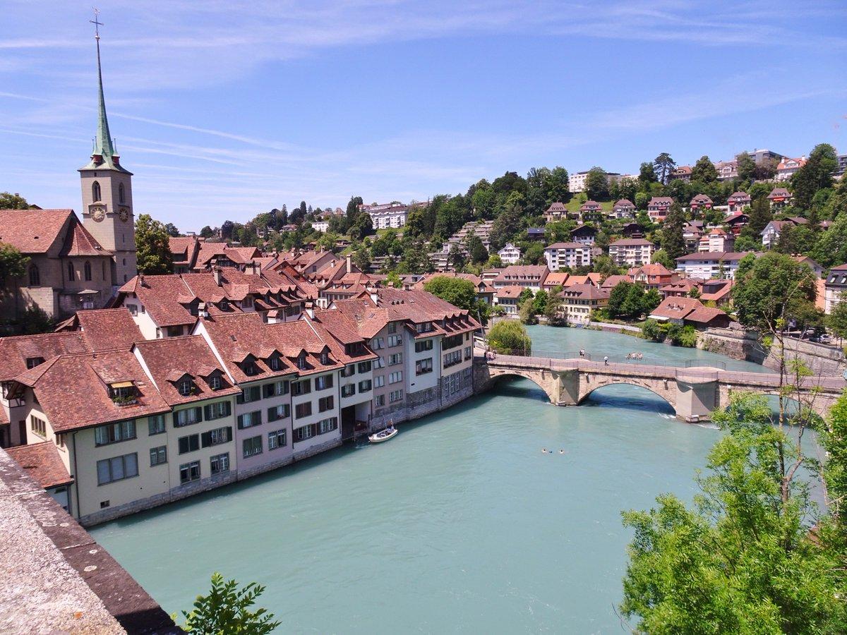 The beautiful city of #Bern! #Switzerland #RiverAaare #ilovebern @BernWelcome @madeinbern @StadtBern @MySwitzerland_e