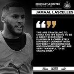Image for the Tweet beginning: 🏆 Newcastle United captain Jamaal