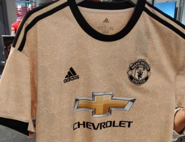 72973ab6 Manchester United's new 'snakeskin' Adidas away shirt leaked – and fans are  not happy