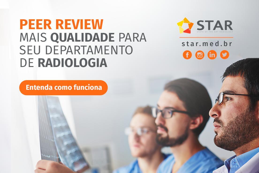 O peer review tem trazido inúmeros benefícios para departamentos de radiologia em todo o mundo.  Acesse, conheça e entenda melhor o assunto. https://mla.bs/c97e99f2  #startelerradioldia #peerreview #telemedicina #telerradiologia #raiox #telelaudo #laudosadistância #radiologia