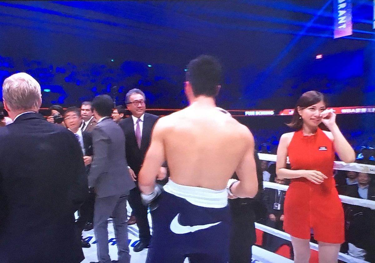 ガール 村田 ラウンド シュートボクシング、ラウンドガール1