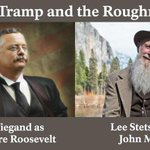 Image for the Tweet beginning: The TRAMP and The ROUGH