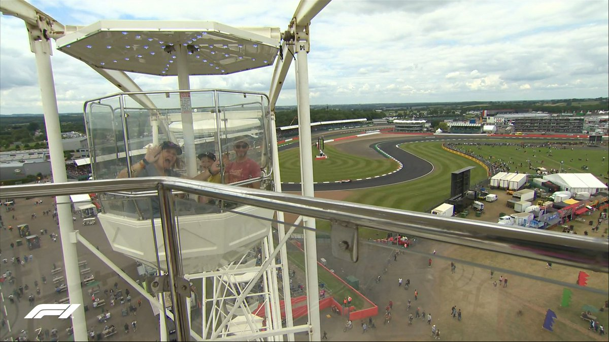 Best view in the house?! 😄  #BritishGP 🇬🇧 #F1