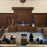 Image for the Tweet beginning: Court is in session! The