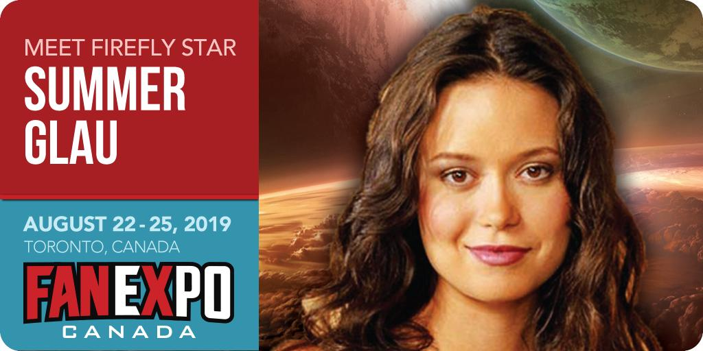 Summer Glau 2020.Fanexpo Canada On Twitter Sci Fi Queen And Star Of Firefly