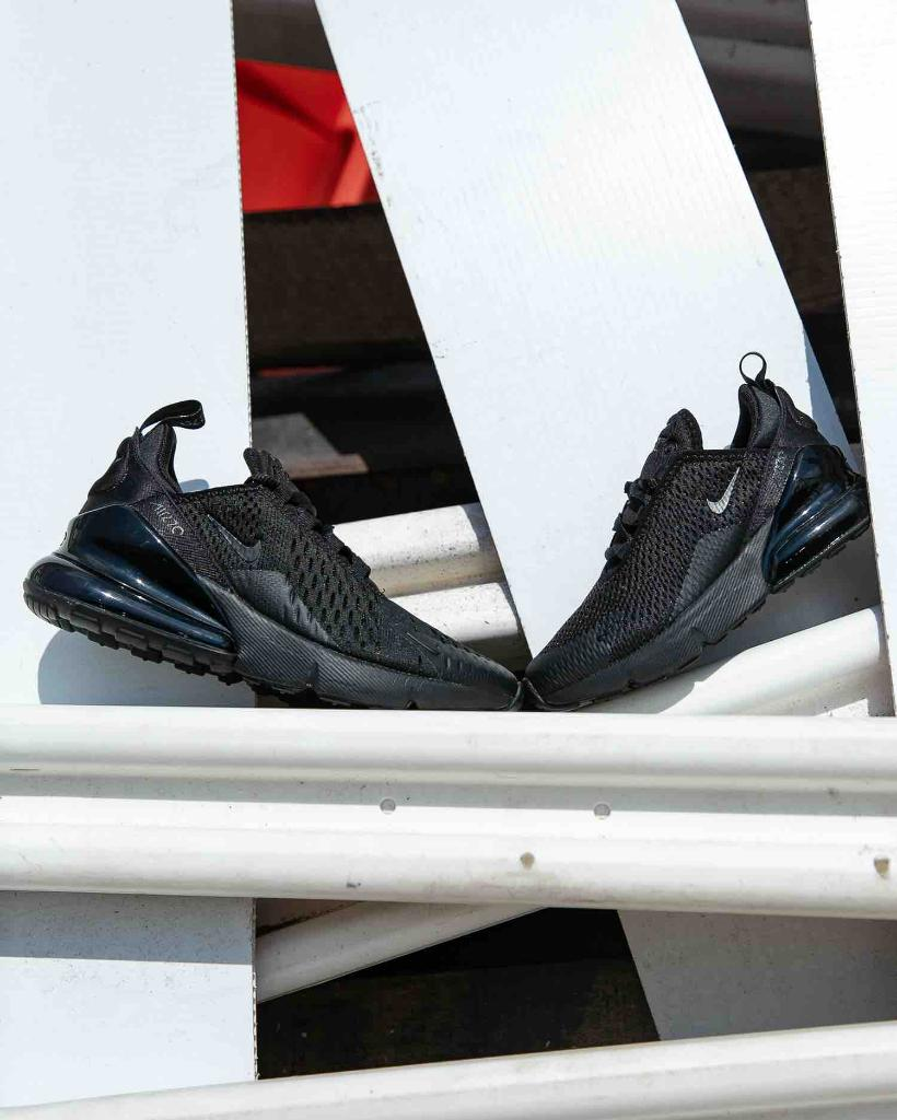 best cheap 8d9c2 24f0c All black everything in the #Nike Air Max 270. Available in ...