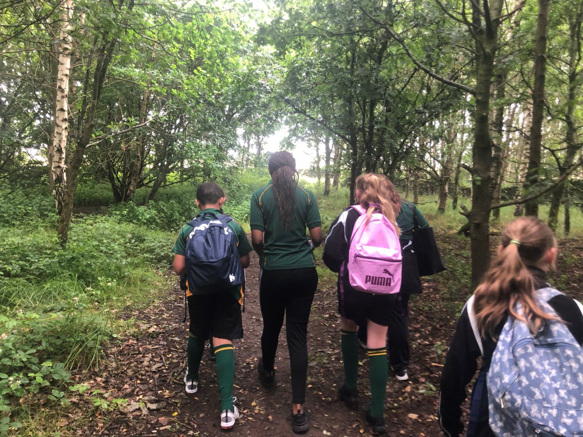 We've been so impressed by our Duke of Edinburgh student leaders who have led the Year 7 walks this week.  They've been kind, energetic, enthusiastic, well organised, and a great example of what Trinity Academy expects from its students.