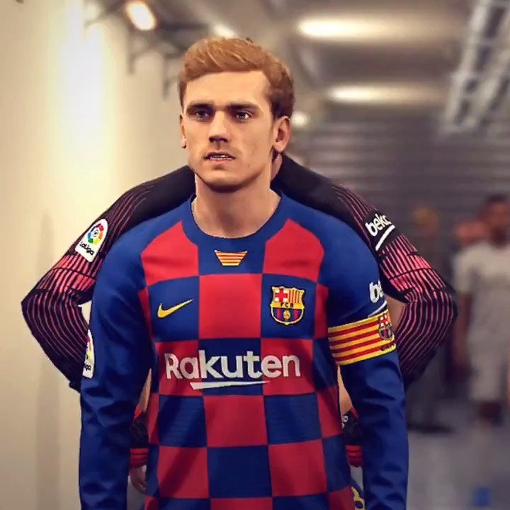 🔙 #OTD | Today marks one year since @AntoGriezmanns presentation as a Barça player! 🔵🔴