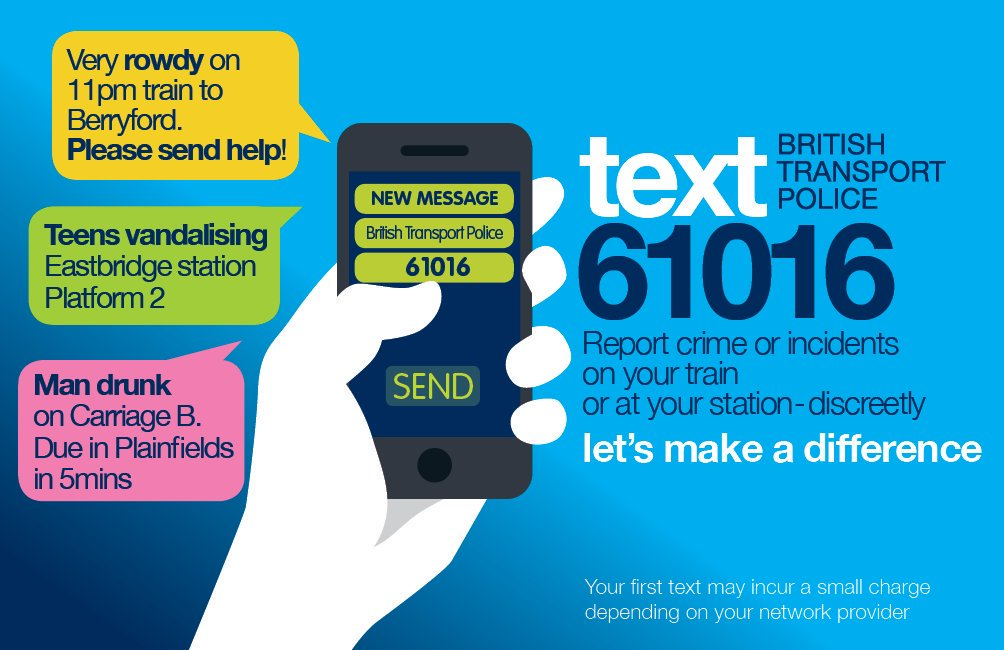 👂 Listen up! We'll have extra staff on hand to help you, you'll also see @BTP officers across the network. Please follow their instructions - this will help you get to your destination as quickly and safely as possible.  Seen something that doesn't look right? #TextBTP on 61016.
