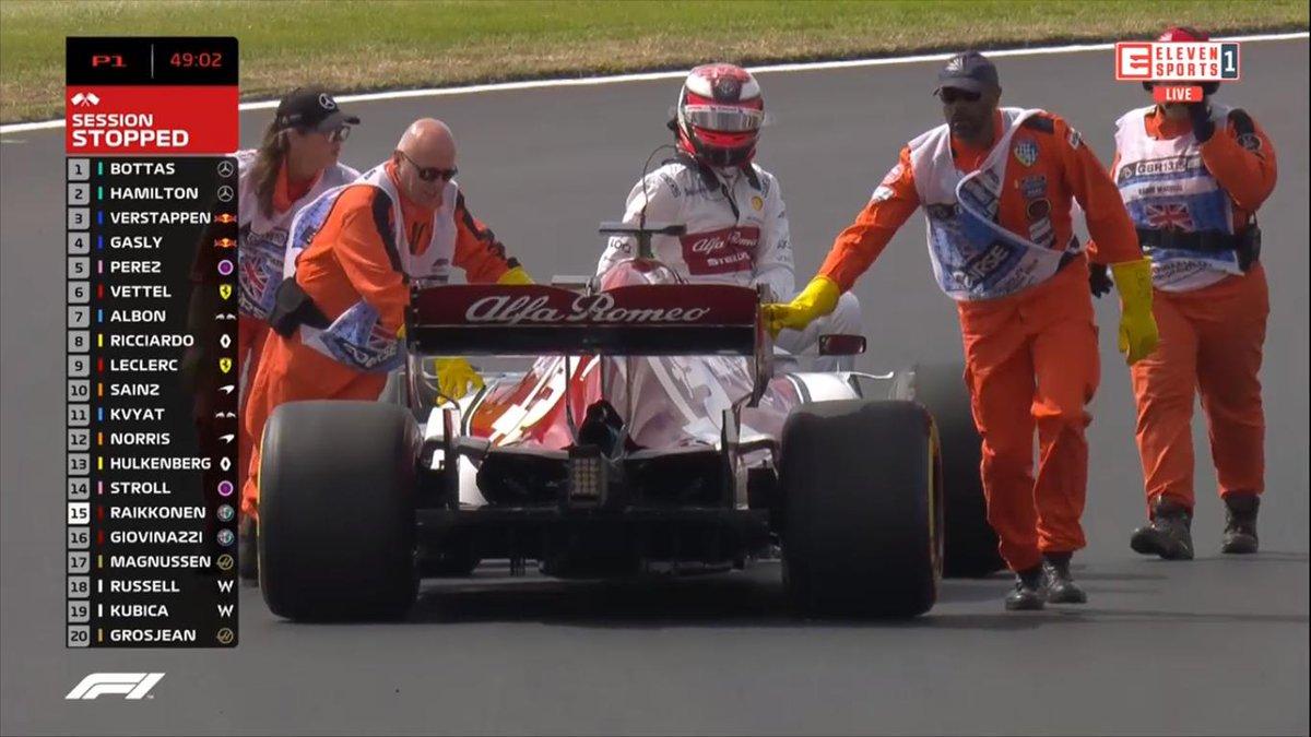 😉 Kimi jak papież Formuły 1 #PapaMobile #BritishGP #ElevenF1