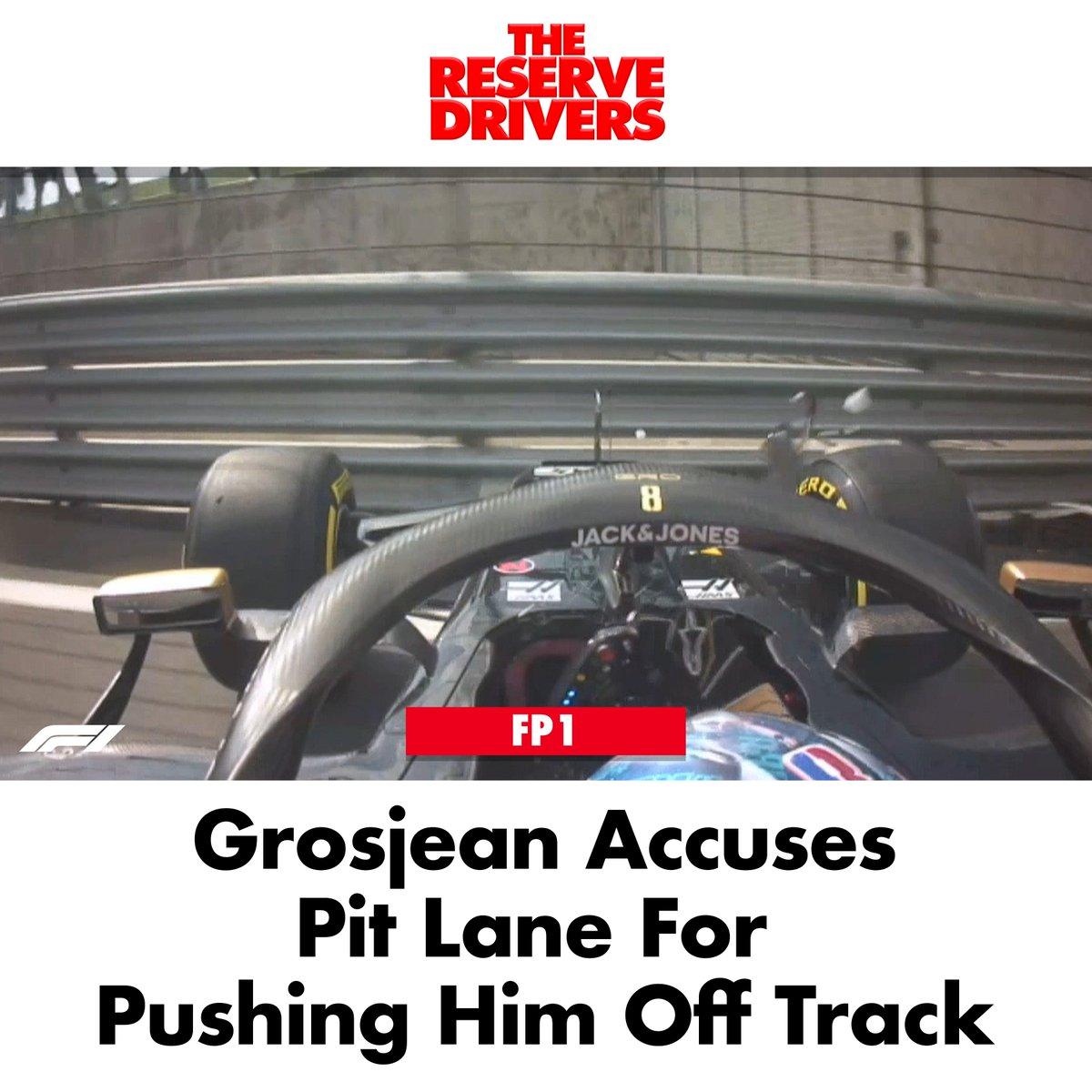 #BREAKING More complaints on the Haas Team Radio... #BritishGP #FP1