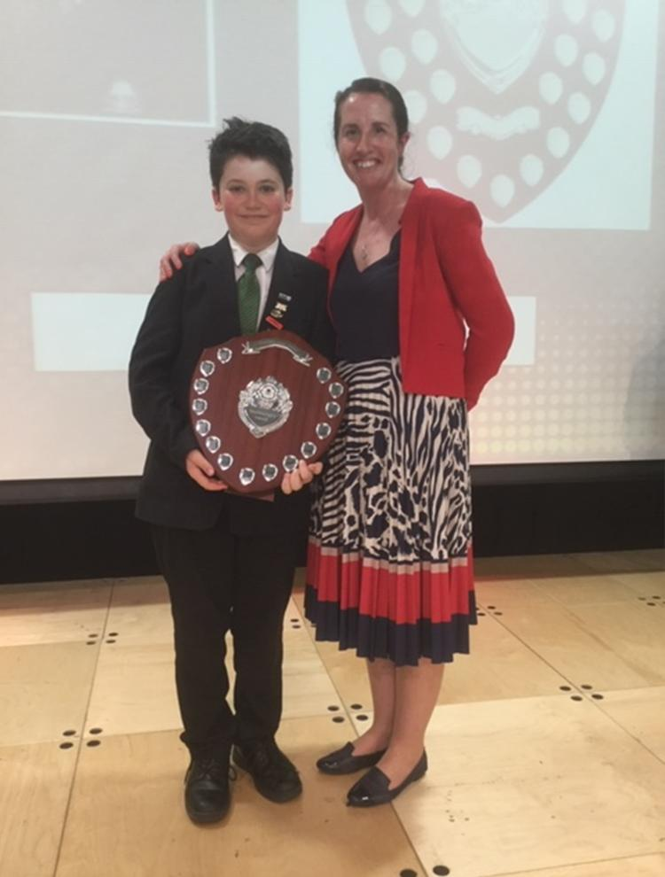 Special congratulations to Charlie who was the proud recipient of Mrs George's Headteacher's Award.  This was presented to him for his contribution in school and the wider community.  Well done Charlie #proud #headteacher #success #stocklandgreenstandard @the_atlp