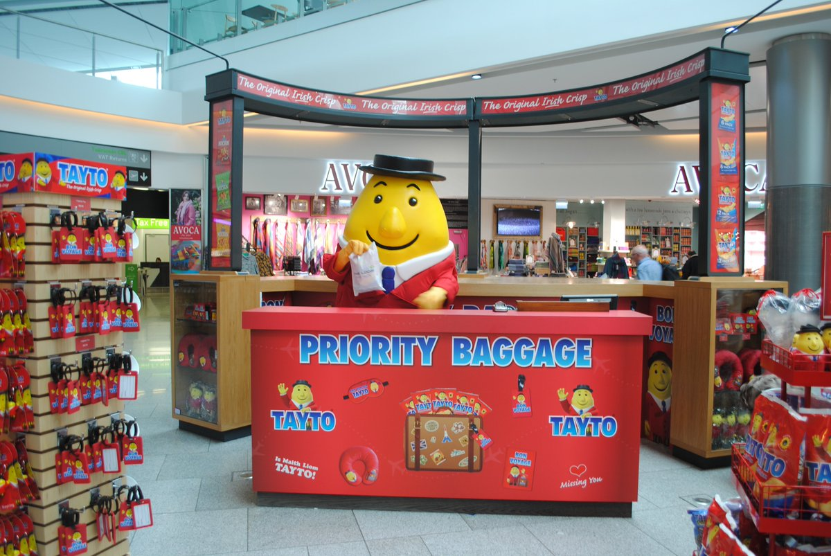 To celebrate the launch of my pop up shop at T2 in Dublin Airport, I have a hamper filled with Tayto Travel Merchandise & a voucher for @TheLoopDutyFree  for one lucky winner! For a chance to win, tell me what your favourite holiday destination is? #Tayto