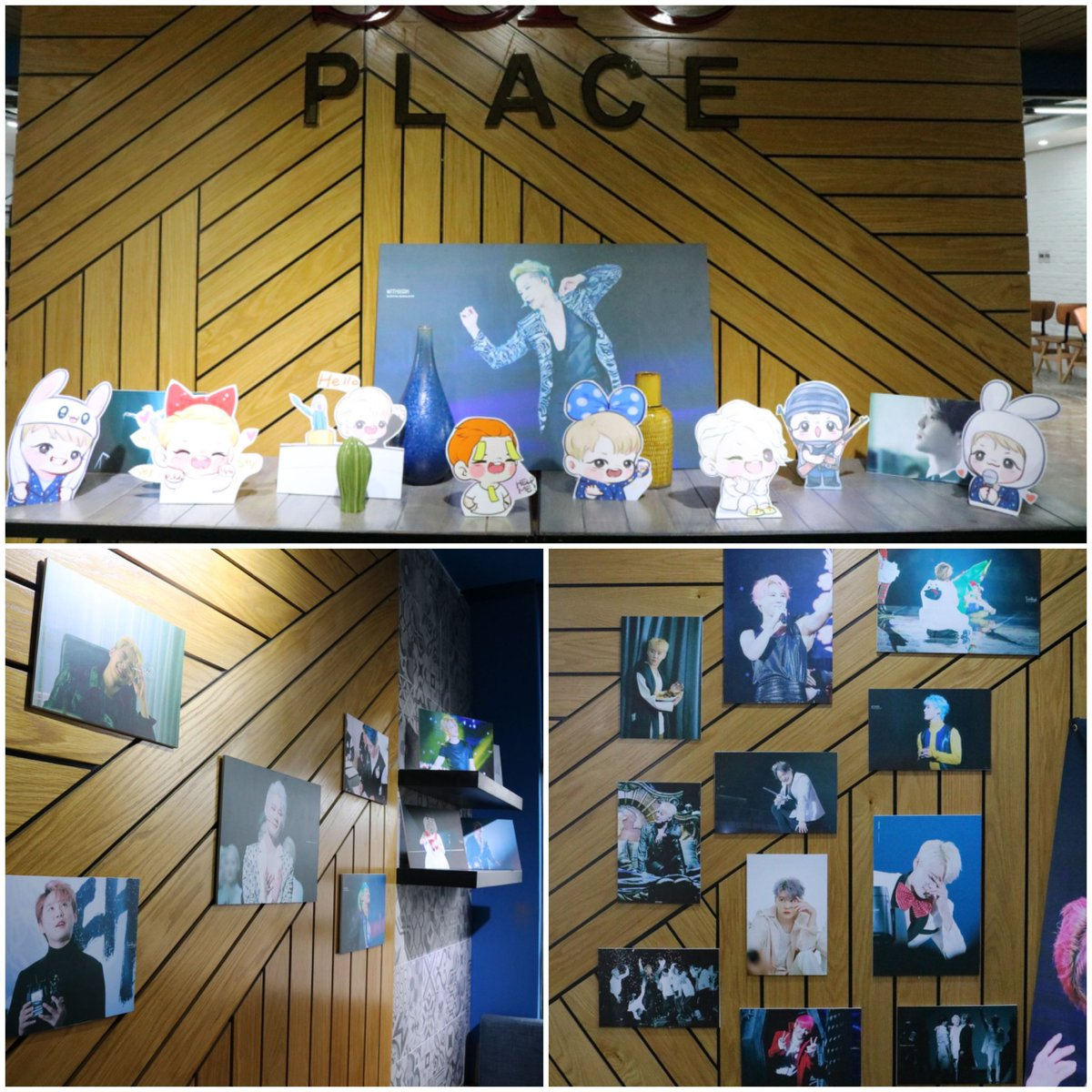 XIA JUNSU'S PHOTO EXHIBITION IN VIETNAM (free exhibition) Thanks for the support of: @Ohmyjun_com @_WithXIA @TwinklingJ_ @lucylallaice @NianStic @XIA_hjhj @LicenseToXIA  The exhibition included 300 photos and more than 100 fans have attended. Thank you very much ^^