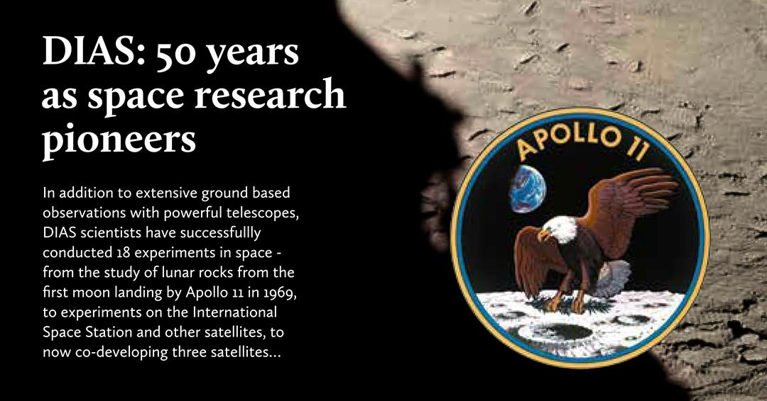 test Twitter Media - 2019 marks 50 years since the Apollo 11 mission and 50 years of pioneering space research at DIAS! Check out some of our work that's literally ~out of this world~ 👽 #DIASDiscovers #Apollo50 #spaceresearch https://t.co/05w1GsUP8Y