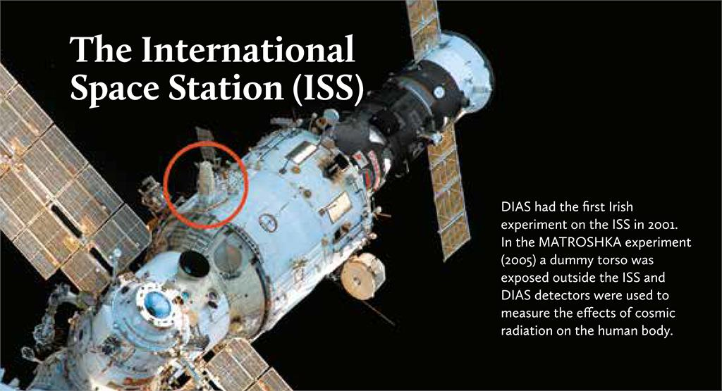 """test Twitter Media - 50 years ago, Neil Armstrong took """"one small step for man..."""" In 2001, DIAS researchers-or at least their dummy-took another small step for man…measuring the effects of cosmic radiation on the human body in Ireland's first experiment on the @Space_Station!  #DIASDiscovers #iss https://t.co/cyXODgMfQ5"""