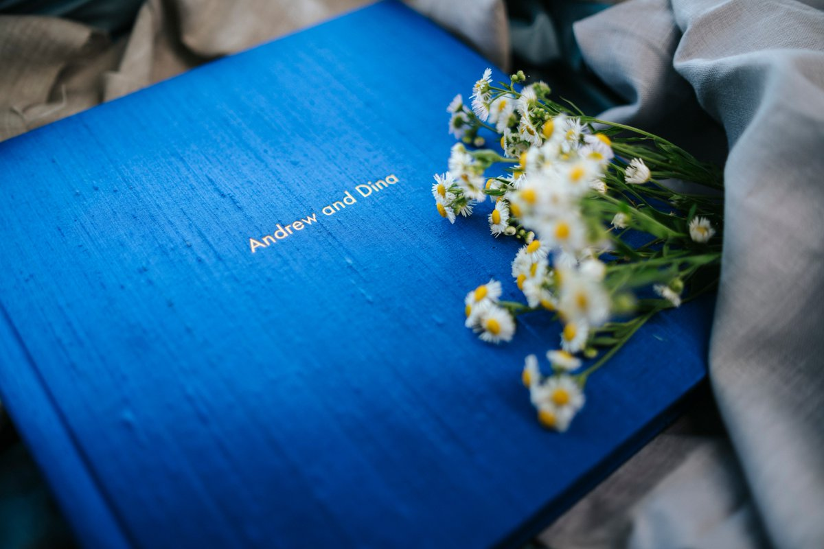Silk Indigo with gold letter embossing! My favourite combination! #qtalbums #teamqt #silkcovers #weddingalbum #weddingphotography #FridayFeeling #FridayMotivation #weekendvibes #weekendwedding #weddingday