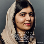 Image for the Tweet beginning: Today, we honour #Malala's courage,