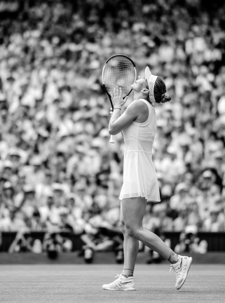 LONDON, UK: @Simona_Halep || day ten, the championships @Wimbledon || #wimbledon #simonahalep #tennis #london https://t.co/sCexESKTBX