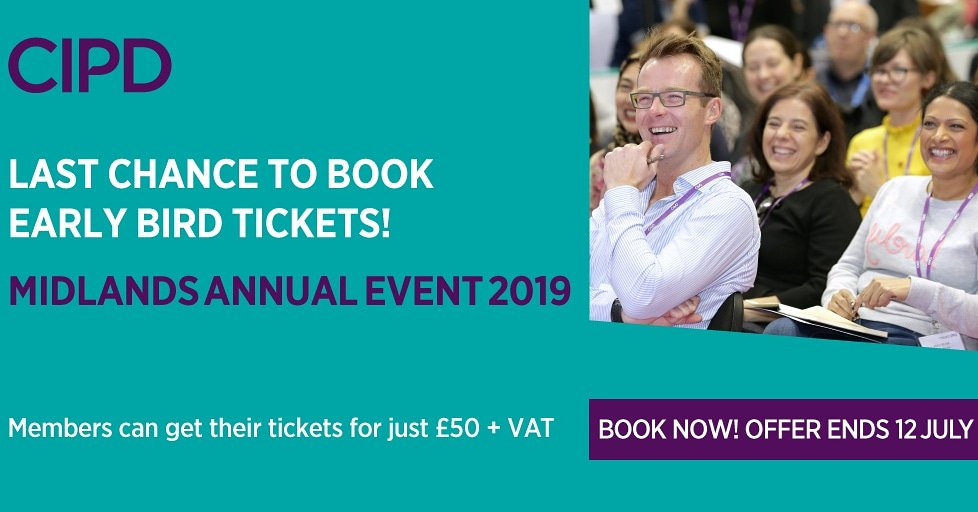 Good Morning and Happy Friday! Our early bird booking for #CIPDMAP19 closes today, have you got yours?