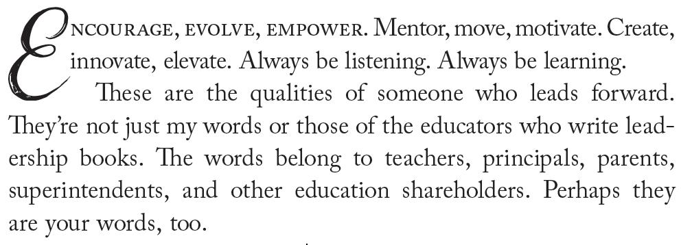 Perhaps they are your words too. #LeadForward #WeAreTeachers buff.ly/30tYBoZ