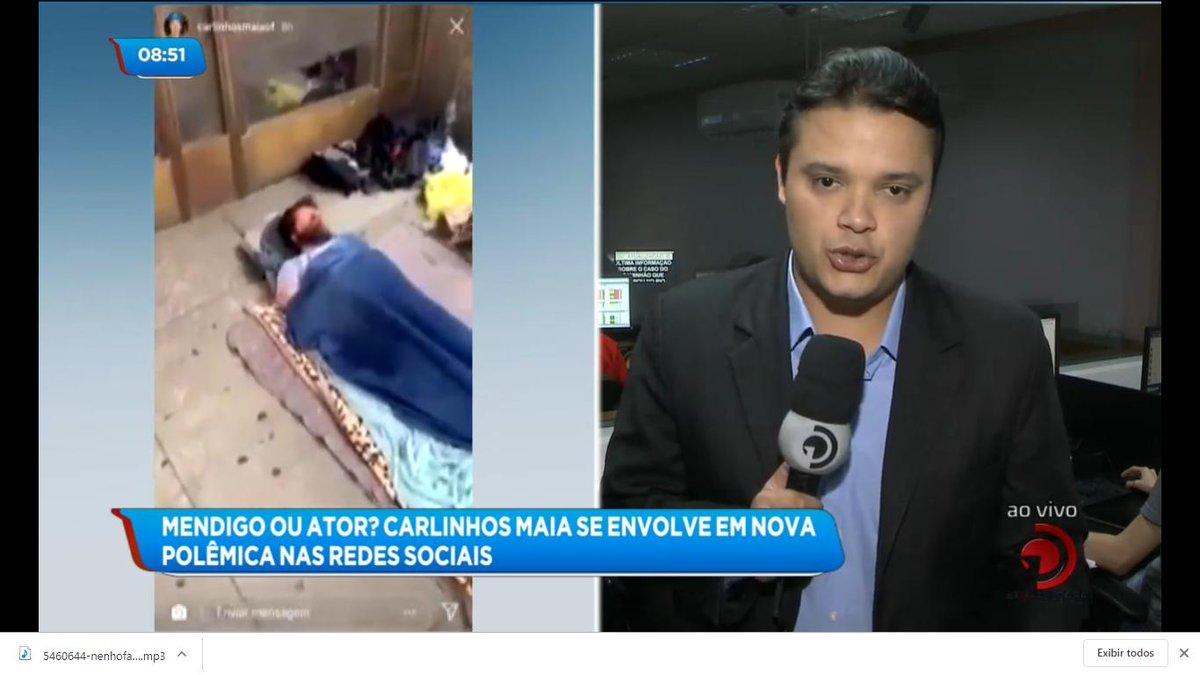 Polêmica 😱 Carlinhos Maia diz que morador de rua prece ser um ator e viraliza nas redes sociais 👇 #BalançoGeralAL https://t.co/xPG4UWcN7l https://t.co/88FolRS5Iz
