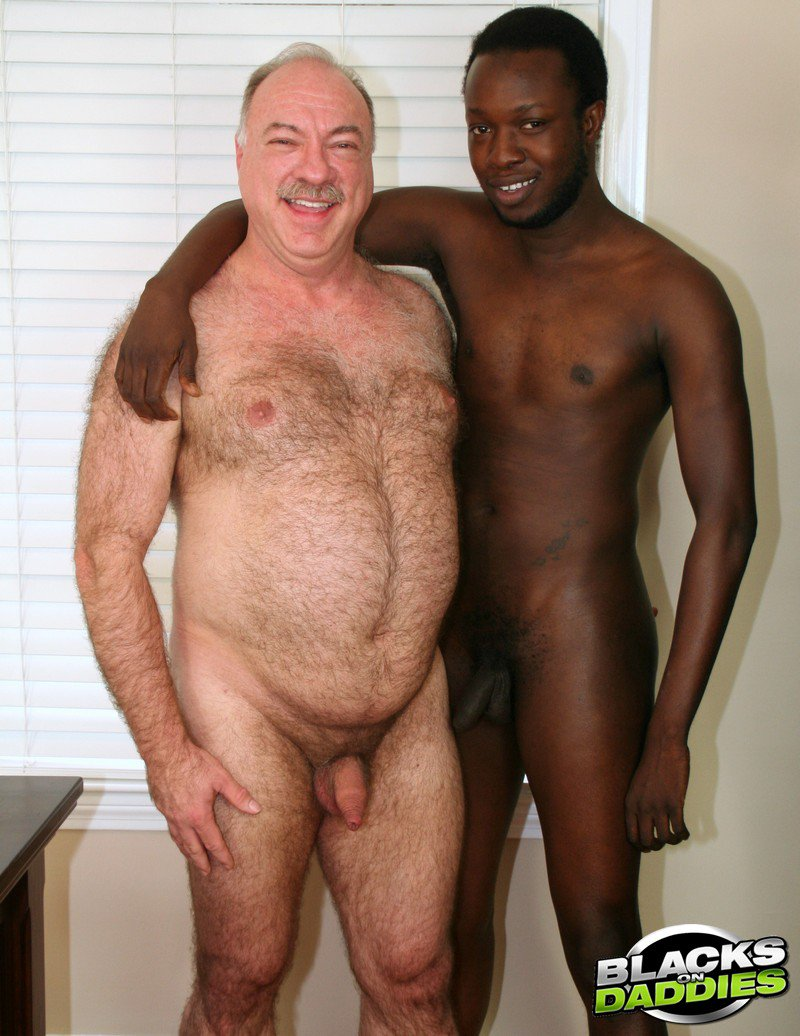 Old men black dicks