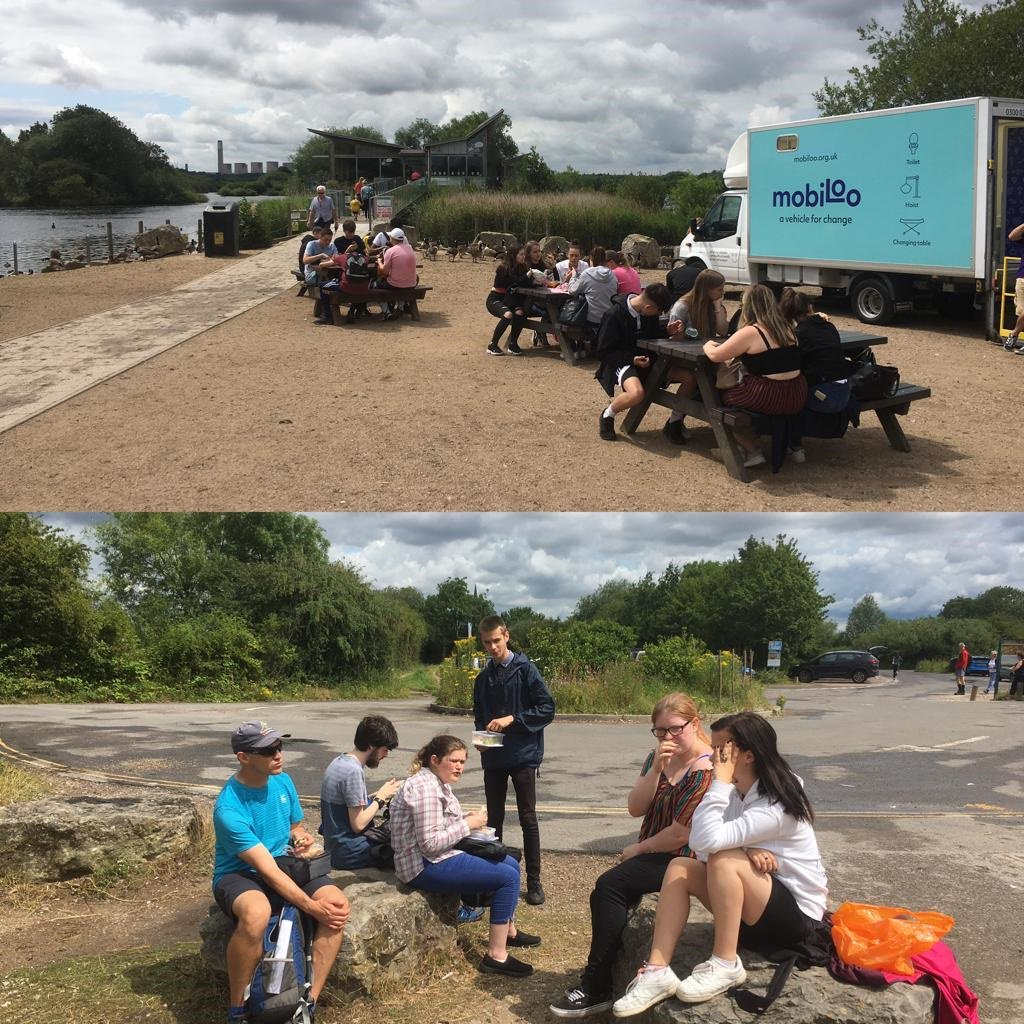 Final day of #EPICweek and we made it to @AttenboroughNR for our picnic <br>http://pic.twitter.com/H0amy9KjmD