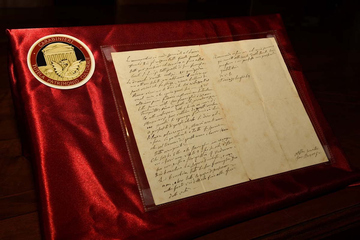 Italy - FBI and Carabinieri find a letter from Don Bosco in 1867 https://t.co/iq24FSiUKC https://t.co/SCWTtrNJ1k