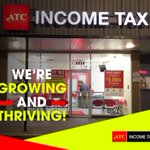 We're growing and thriving!  ATC has grown from 4 tax service retail offices to over 34 store fronts and continues to thrive despite the competitive climate.  We will continue to faithfully serve you and all our future clients.  #atcincometax #taxrefund #incometaxes