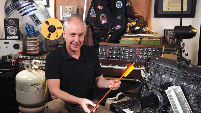 Happy Birthday Ben Burtt! Thank you for all the iconic sounds!