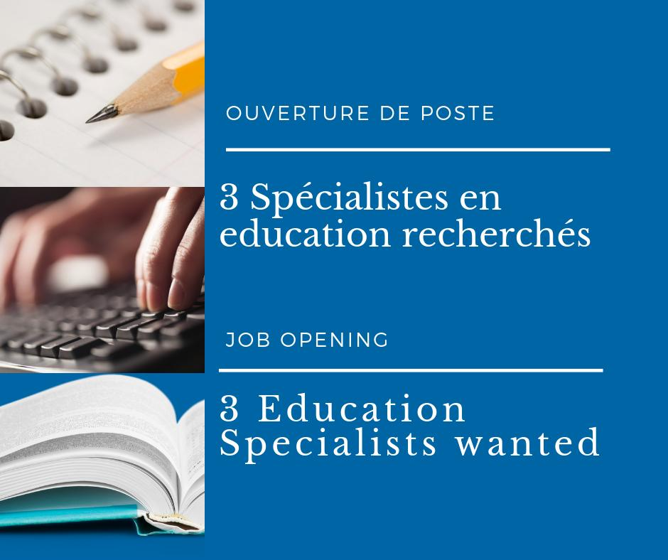 Do you have proven experience in educational program development, design and evaluation? Equitas has an exciting opportunity for you. We are seeking 3 highly motivated Education Specialists who care passionately about human rights, equality and inclusion: https://t.co/sANIKfGCKP https://t.co/KNMR2Ys0kc