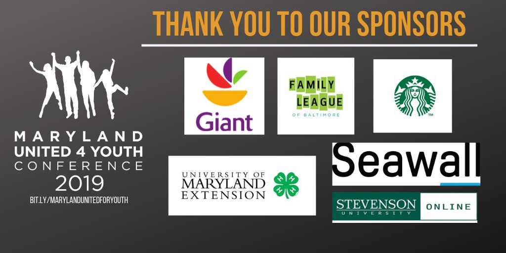 Thank you to our sponsors!!