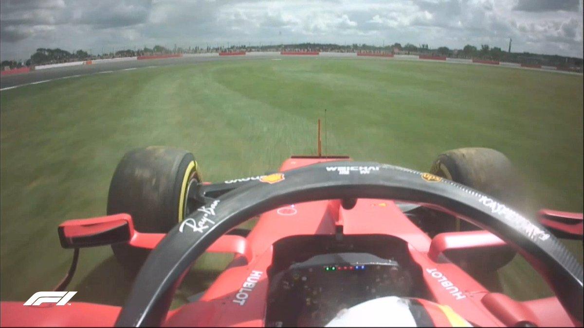 Vettel, en su ...