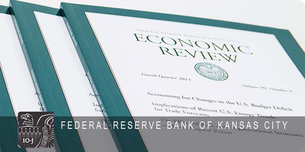The Economic Review is a quarterly research publication with articles by #KCFed staff on macroeconomics and monetary policy, regional and international economics and more. Read the current and past issues at http://bit.ly/2YcfILf . #Economy