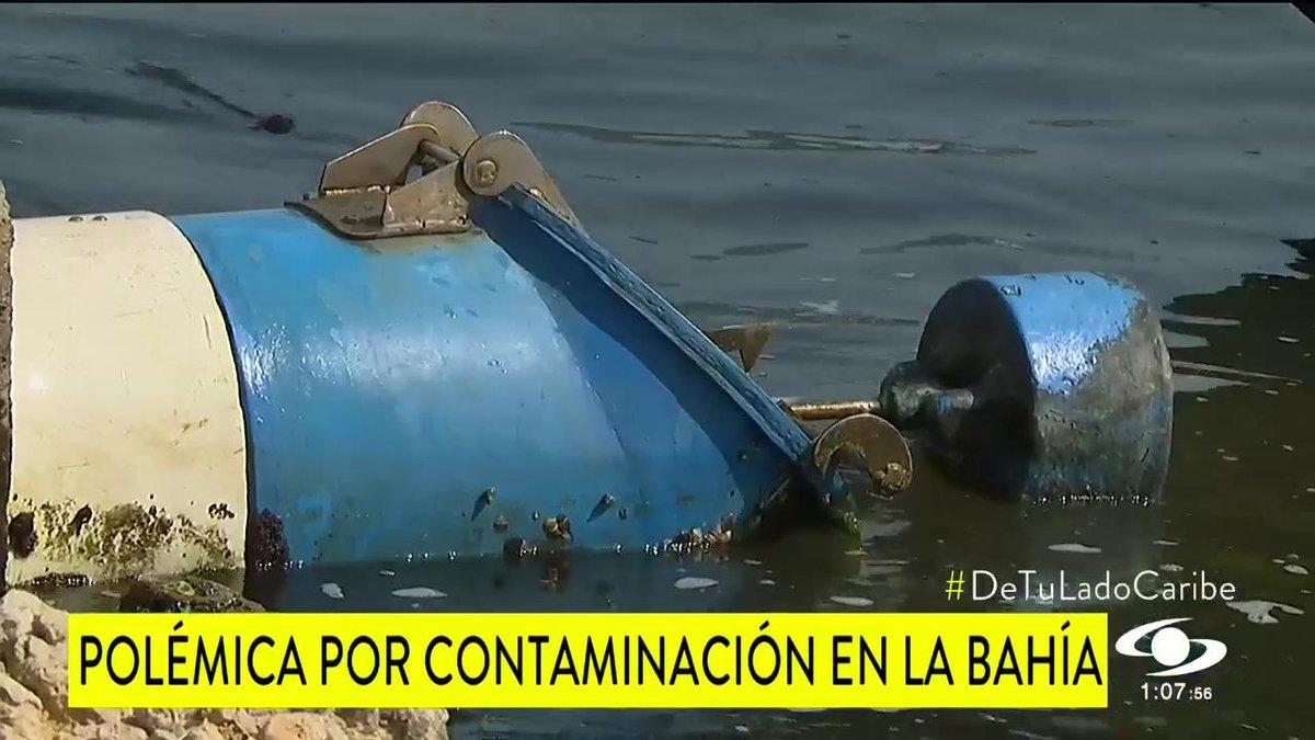 Alerta por contaminación en la bahía de Cartagena http://noticiascaracol.com