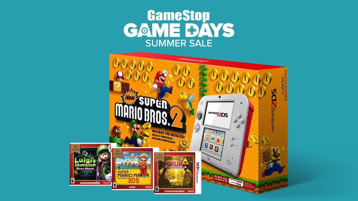 Gamestop On Twitter Score A Free Nintendoamerica Selects Game