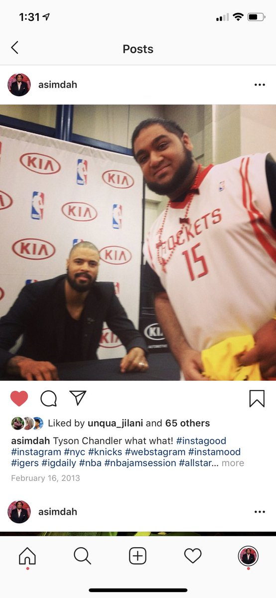 Hey I guess it finally happened!! 6 years later 😂 Welcome to HTOWN!!! @tysonchandler