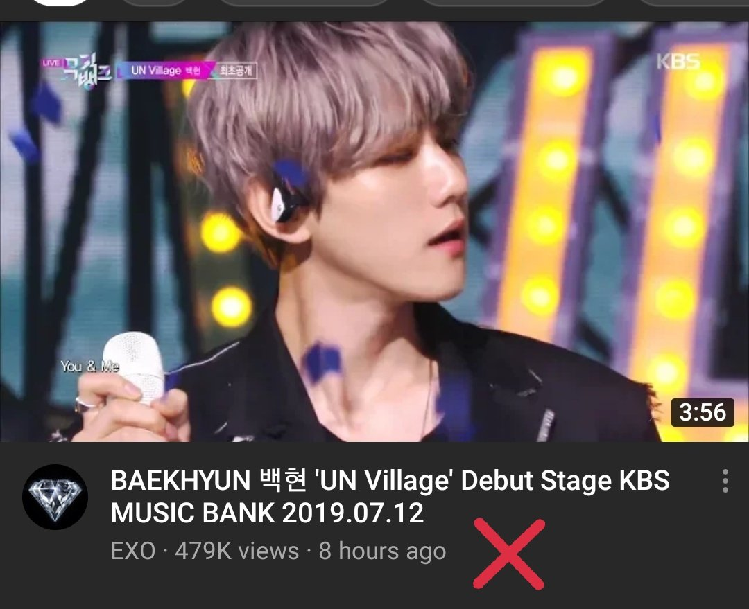 GUYS, THIS IS IMPORTANT  Please stream the video of UN Village's stage on KBS's Channel since as far as I know this is the one that will be counted on next weeks' voting! Not the one on EXO's channel!   https:// youtu.be/j6lV_P7TUZg       #BAEKHYUN #BAEKHYUN_UNVILLAGE <br>http://pic.twitter.com/ojikXuYoWN