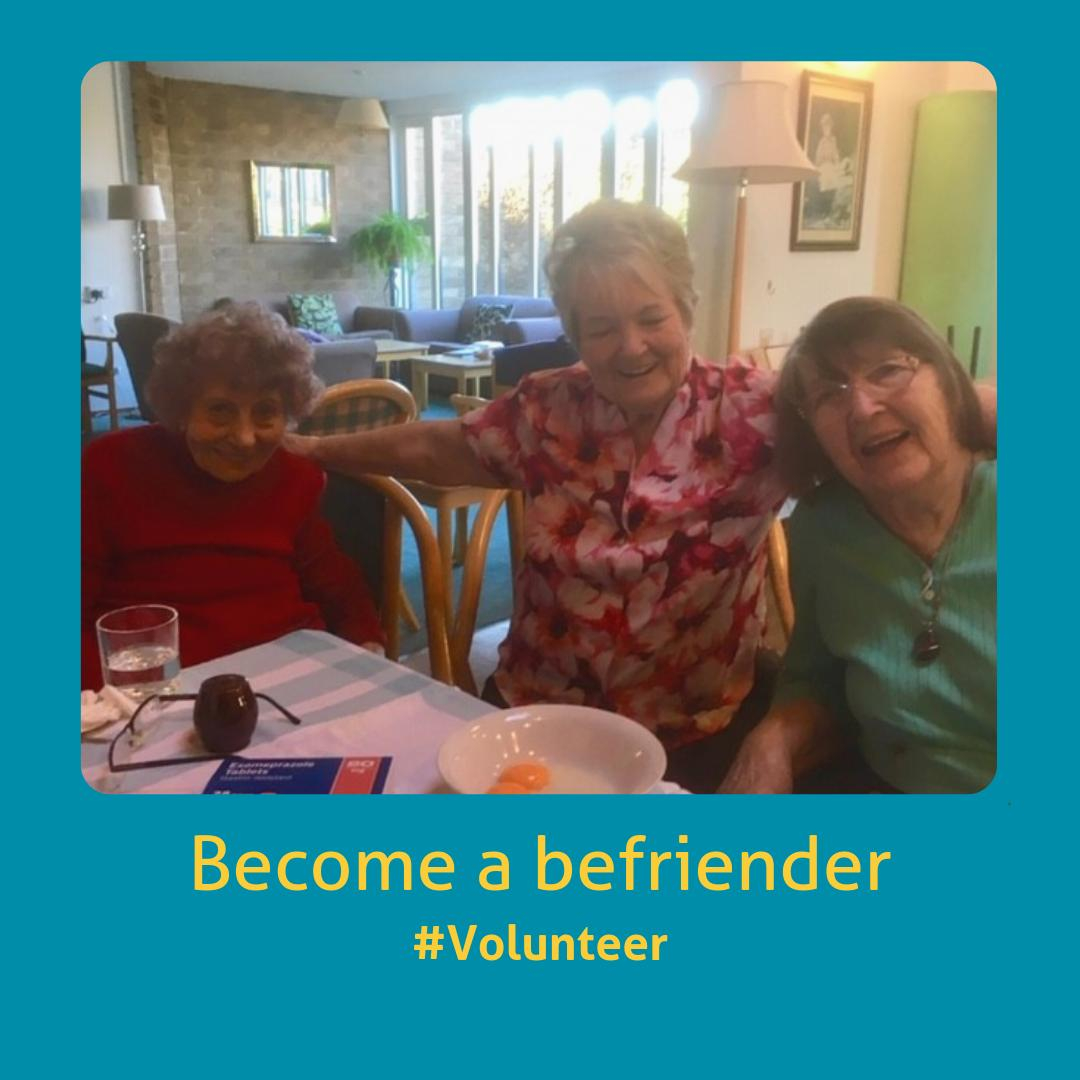 Got that #FridayFeeling? Why not seize the day and sign up to join our team of wonderful volunteers?  We're looking for #befrienders in #WestLothian and #Edinburgh to help older people live active and fulfilling lives. Sign up now: https://buff.ly/2EdICEB