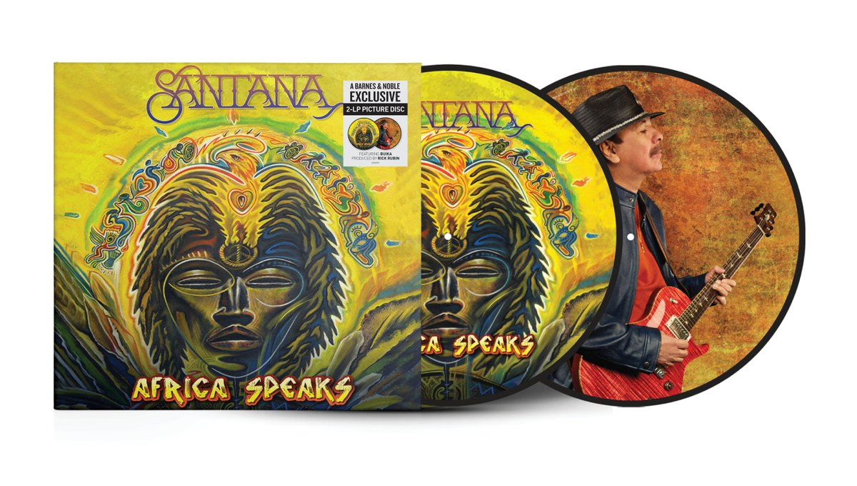 It's #BNVinyl Weekend! Visit your local Barnes & Noble store to get the exclusive picture disc of Santana's new album Africa Speaks! https://t.co/eRkaMPzU6w https://t.co/yhoTHialKb