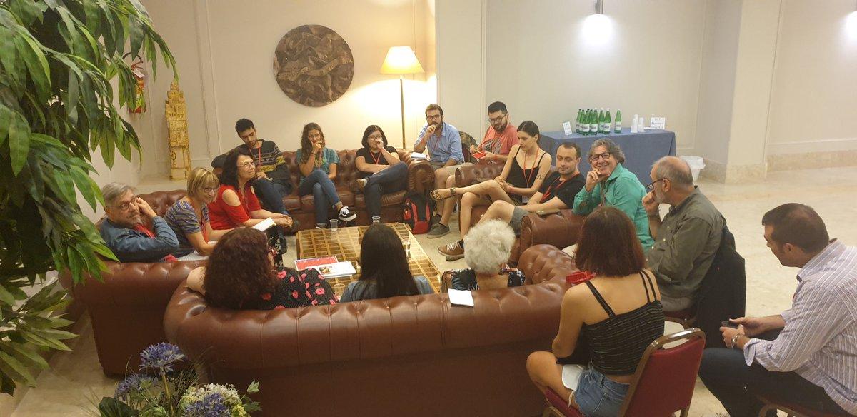 #Workshop: Christian /Marxsist Dialogue. Ora a #Fiuggi alla #summeruniversity 2019 del partito della #SinistraEuropea #EuropeanLeft #ELSU19 @europeanleft