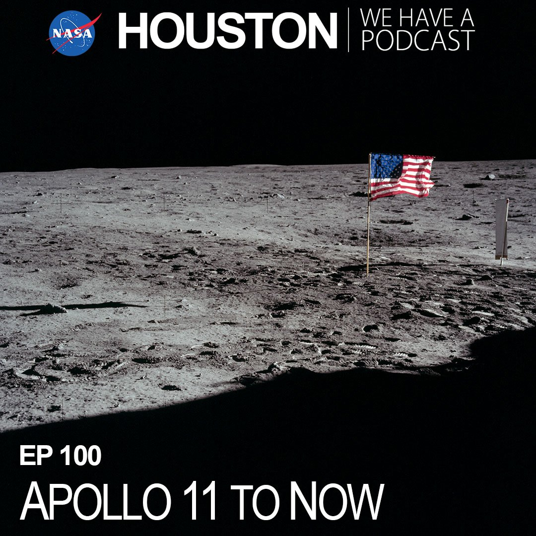 For the 100th episode of Houston, We Have a Podcast, @NASA Administrator @JimBridenstine discusses the 50th anniversary of the Apollo 11 Moon landing as we continue to move forward towards an exciting future with a sustainable lunar presence. https://www.nasa.gov/johnson/HWHAP/apollo-11-to-now … #Apollo50th