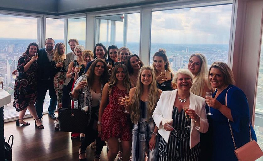 test Twitter Media - Our elite group of top performing consultants from the justteachers family celebrate their success with a fully expensed trip to the #Shard   https://t.co/net6b5xDuR  #gptw2019 #WellbeingRecognition #bestworkplaces2019 #educationrecruitment #TheShard #finedining #toasttosuccess https://t.co/AQXopgKdZp