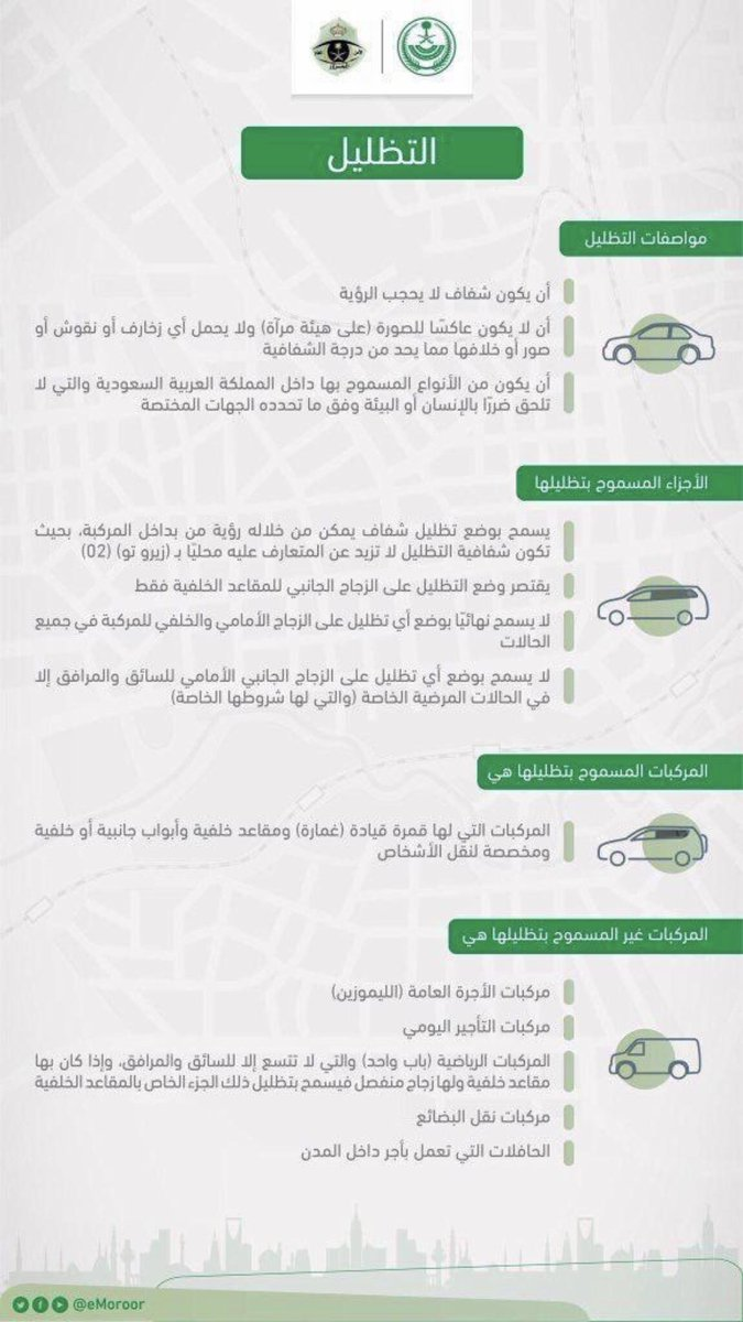 المرور السعودي على تويتر تعرف على الخطوات الإلكترونية التي تجيز لمالك المركبة تفويض غيره بقيادتها المرور السعودي