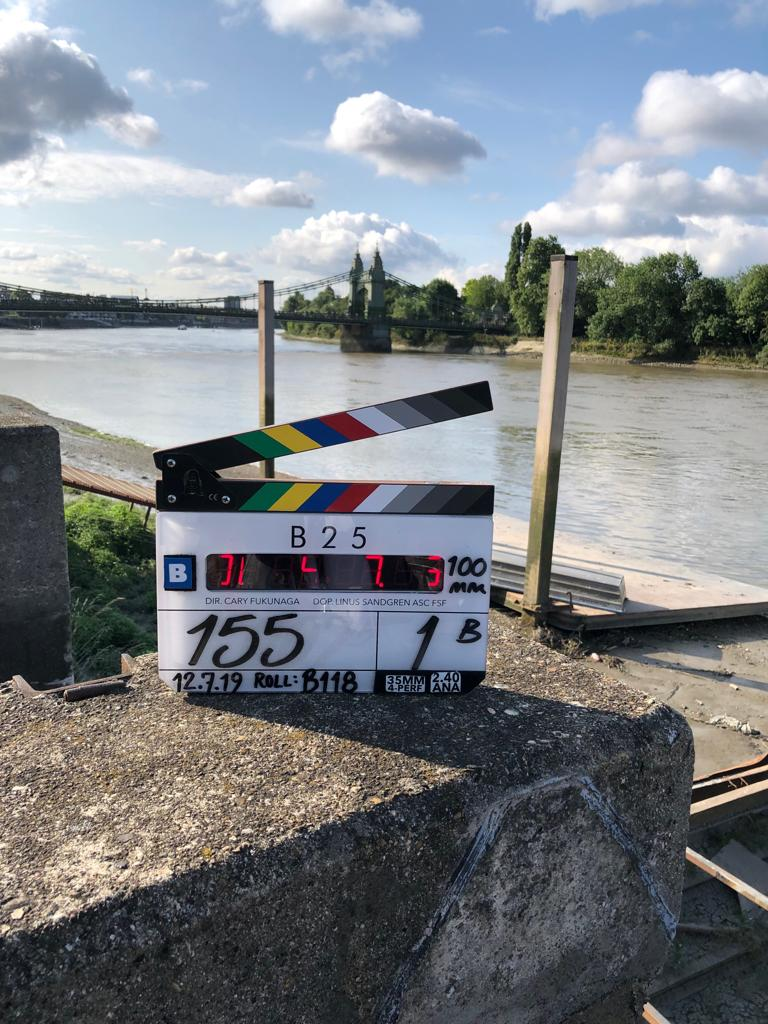 Another iconic London location today... #Bond25